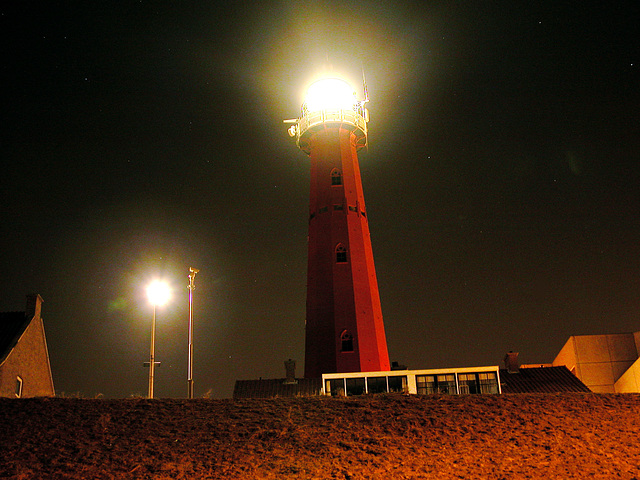The lighthouse at Scheveningen