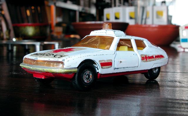 My old toys: Citroën SM emergency vehicle