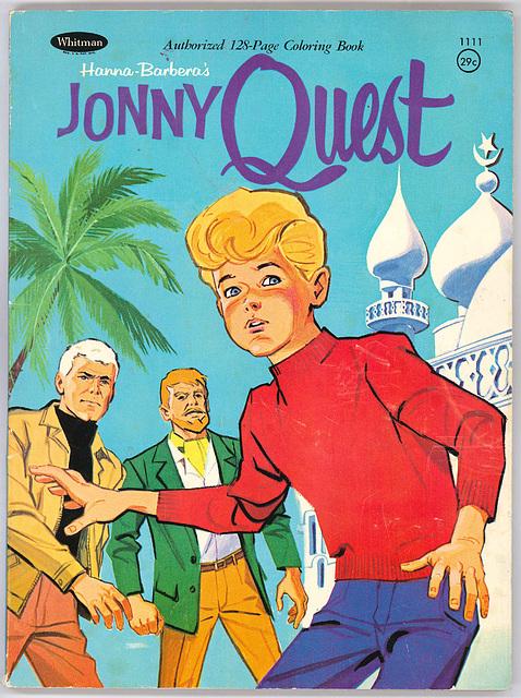 ipernity: Jonny Quest coloring book - by Smiley Derleth