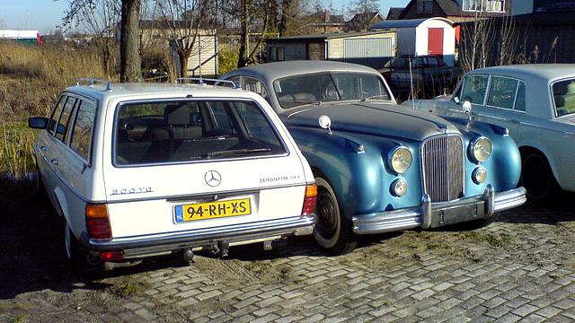 1980 Mercedes 300 TDT & Bentley
