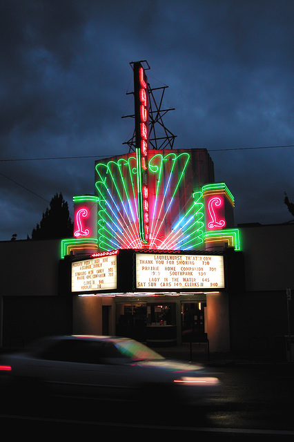 Portland images: Laurelhurst Cinema