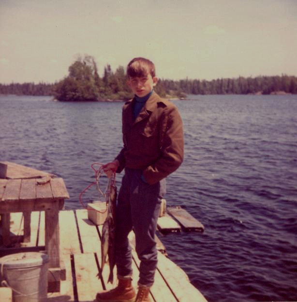 Fishing in Ontario 1972
