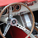 Oldtimer day at Ruinerwold: Dashboard of a Ford Mustang
