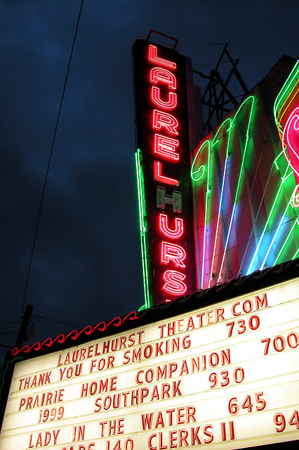Portland images: Laurelhurst Cinema