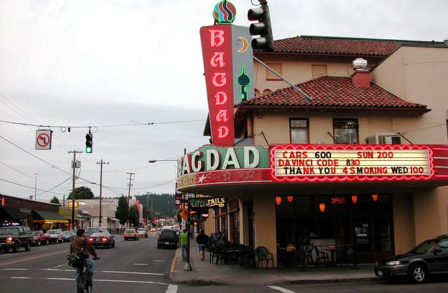 Portland images: Bagdad cinema on Hawthorne Blvd