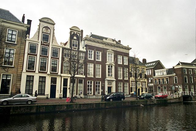 Canals of Leiden: the Rapenburg
