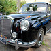 Oldtimer day at Ruinerwold: 1956 Mercedes-Benz 220 S