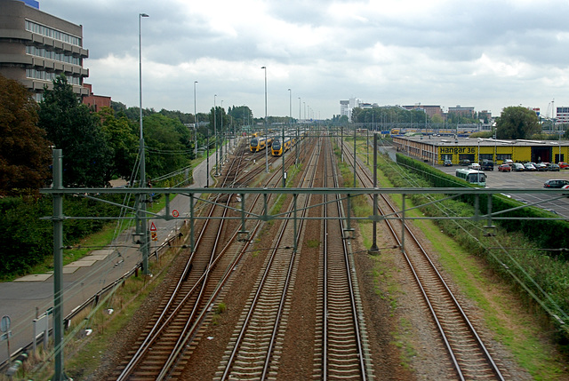 Parking lot for trains