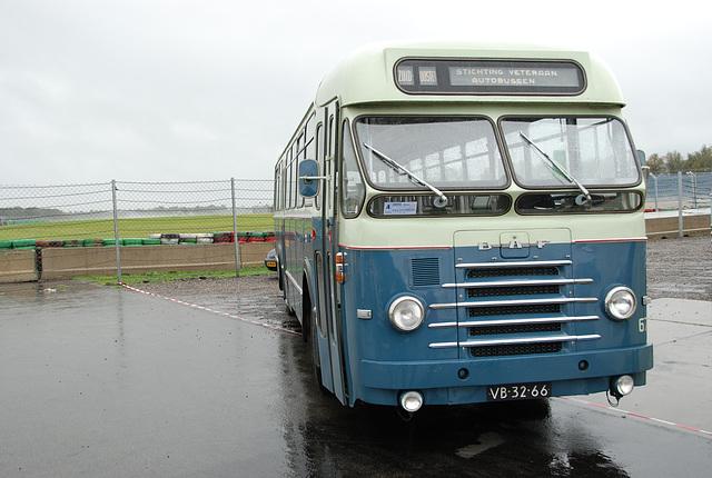 1962 DAF TB102 DD 520 in a Dutch landscape