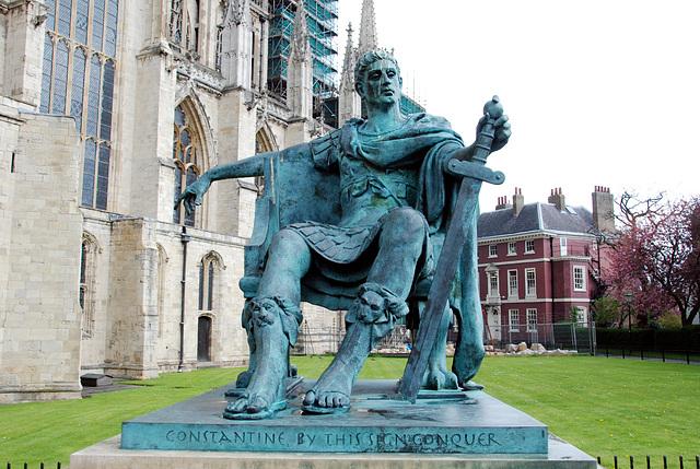 York Minster: emperor Constantine