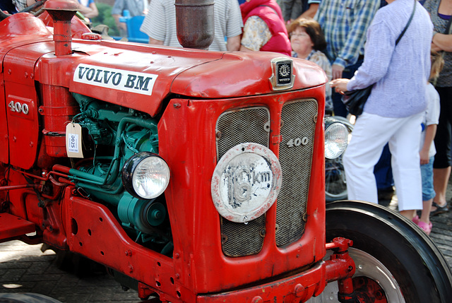 Oldtimer day at Ruinerwold: Volvo BM 400 tractor