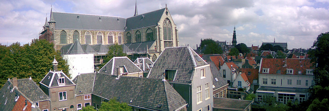 Leiden panorama