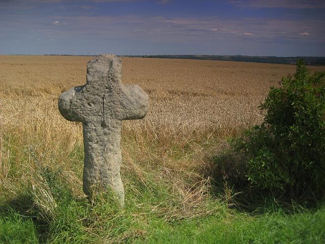 Alsleben, Kreuz an der Straße nach Alsleben
