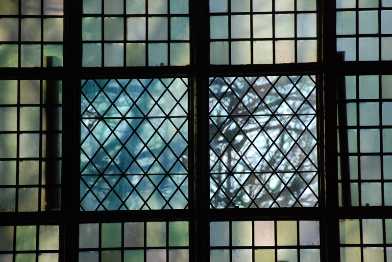 433rd dies natalis of Leiden University: windows of the St. Peter's Church
