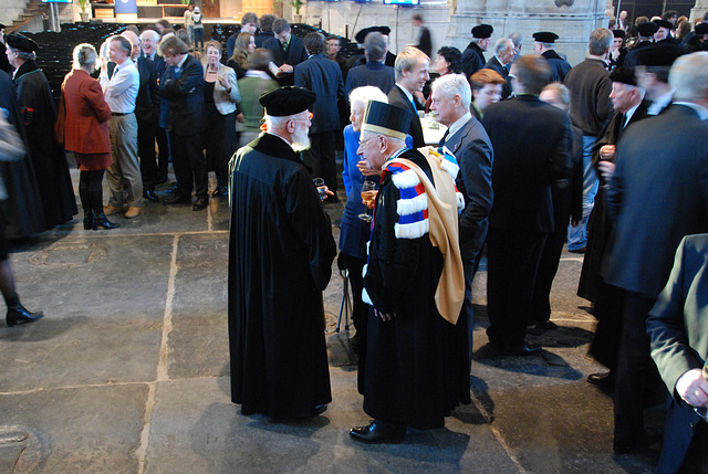 433rd dies natalis of Leiden University: retired professors