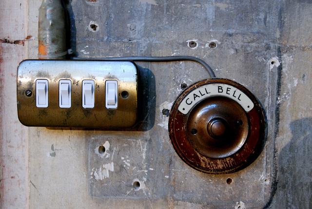 York Minster: call bell