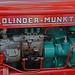 Oldtimer day at Ruinerwold: Bolinder-Munktell diesel engine with Bosch diesel pump