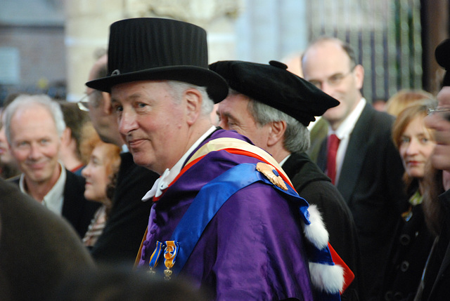 433rd dies natalis of Leiden University: former Rector Magnificus prof. Douwe Breimer