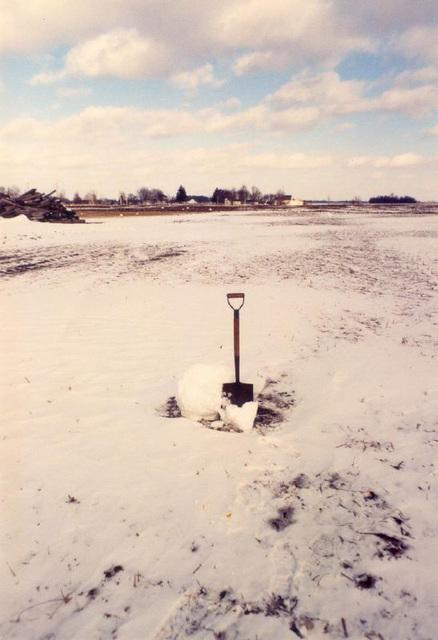 Blowing Snowballs