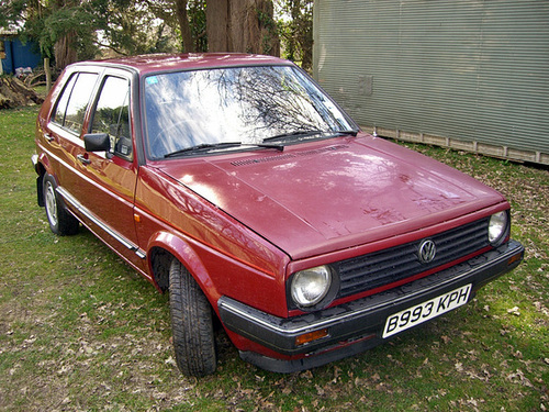 Ipernity 1984 Volkswagen Golf Cl Automatic By Timc