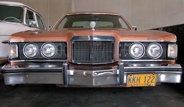Cars of Portland: at a oldtimer garage