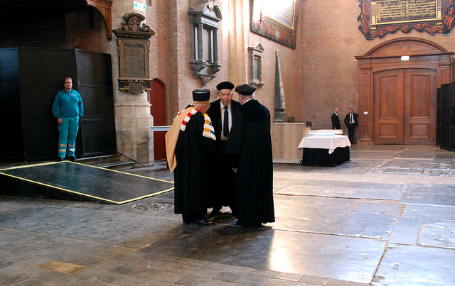 433rd dies natalis of Leiden University: professors who don't join in the procession