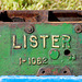Oldtimer day at Ruinerwold: Part of a Lister engine