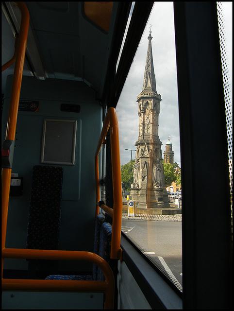ride a crock bus to Banbury Cross...