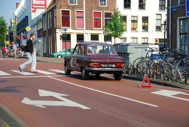 Broken-down 1972 Peugeot 204