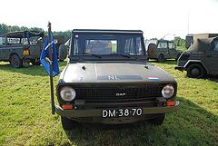 Oldtimer day at Ruinerwold: 1972 Daf YA 66