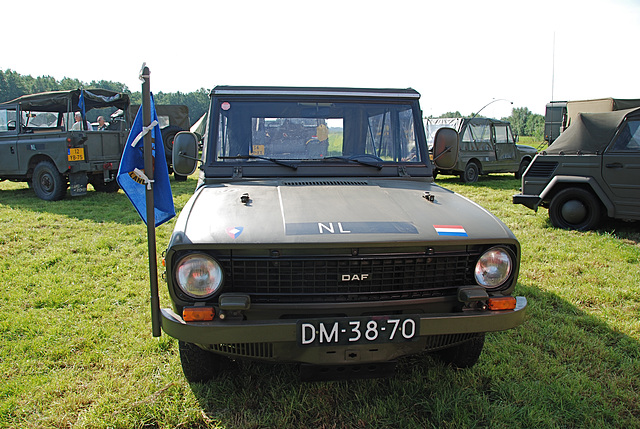 Oldtimer day at Ruinerwold: 1972 Daf YA 66