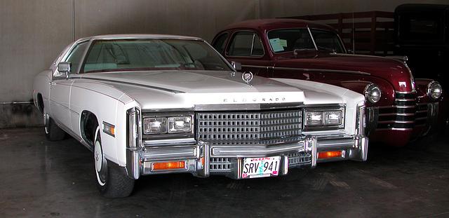 Cars of Portland: Cadillac Eldorado at a oldtimer garage