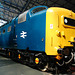 A visit to the National Railway Museum in York: Deltic locomotive 55002