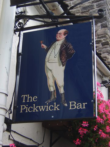 'The Pickwick Bar'