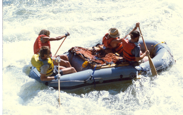 Rafting on the Arkansas River