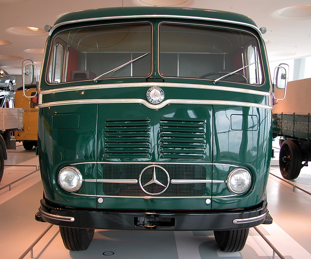 In the Mercedes Museum