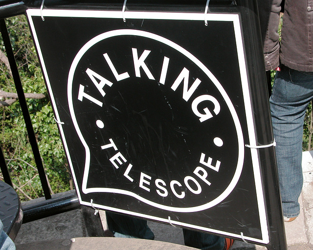 Talking telescope – whatever will they think of next?