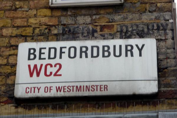 Bedfordbury and ghost