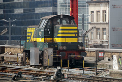 Little shunter 8219 at Brussels