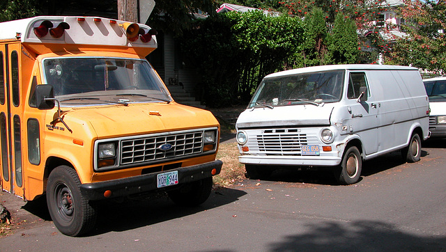 Cars of Portland: a gathering of Fords