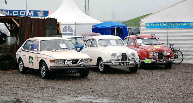 Rallye Saabs
