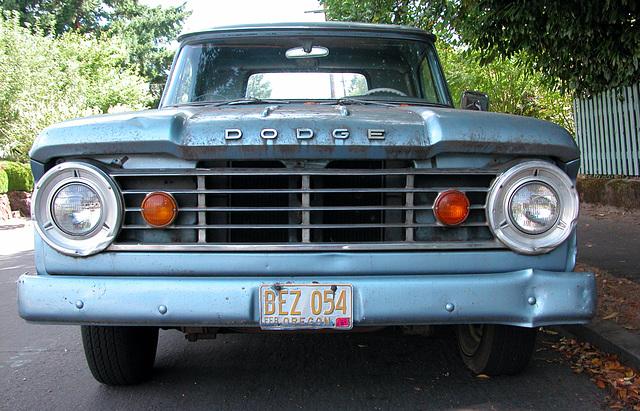 Cars of Portland: Dodge truck
