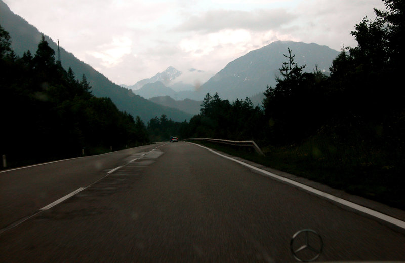 Holiday day one: The Alps in Austria