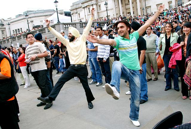 Sikh festival Vaisakhi at Trafalgar Square