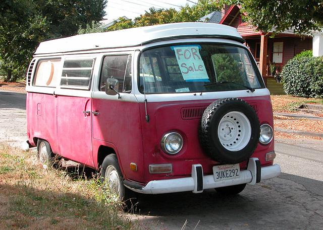 Cars of Portland: Volkswagen van