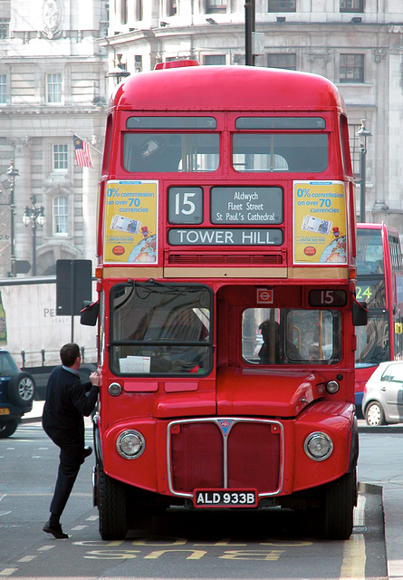 Climbing aboard the Routemaster