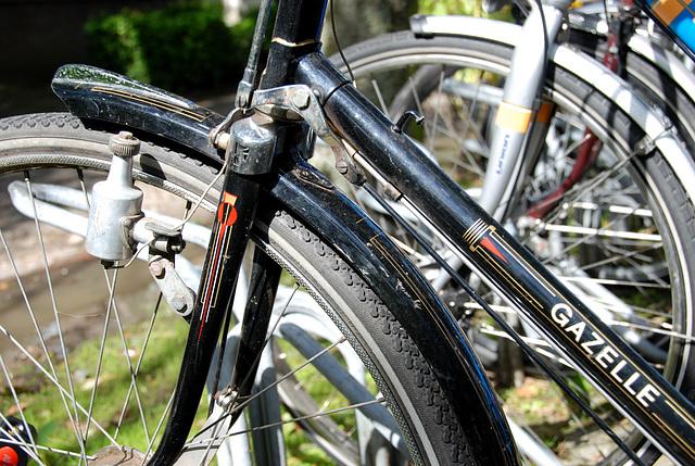 Gazelle Tour Populair bicycle: brake rods
