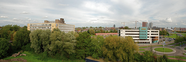 View from my office over Leiden