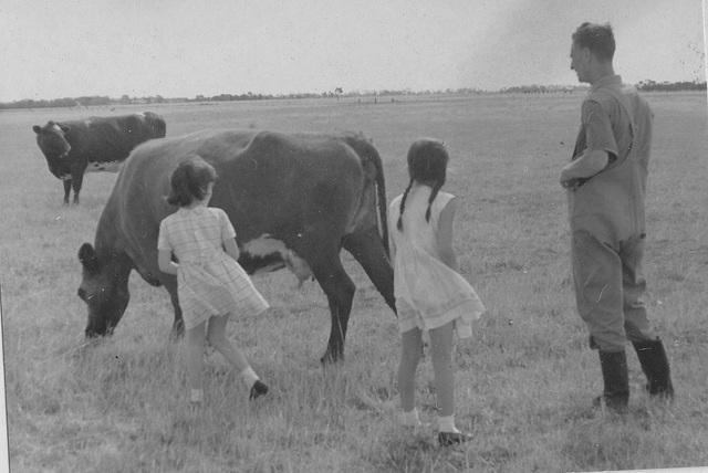 1968 - on Uncle Bernie's farm