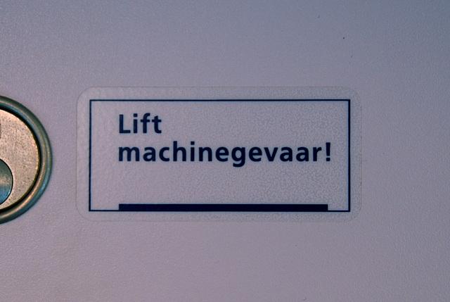 Lift Machine Danger